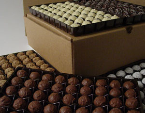 Bulk Packaged Truffles and Pralines